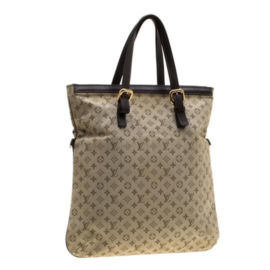 Louis Vuitton Canvas Fabric Tote in Green Image 5