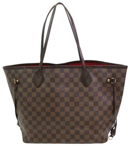 Louis Vuitton Neverfill Checkered St Goyard Speedy Alma Tote in Brown