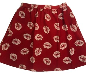 Sam Edelman Mini Skirt red