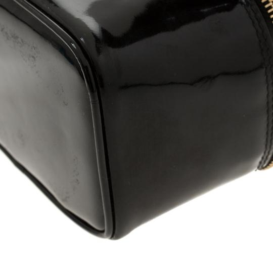 Chanel Patent Leather Black Clutch Image 5