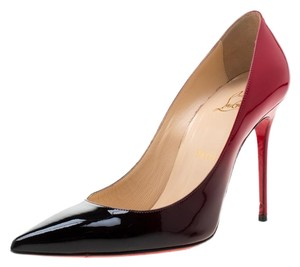Christian Louboutin Patent Leather Pigalle Pointed Toe Red Pumps