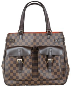 Louis Vuitton Uzes Damier Tolie Tote in Brown