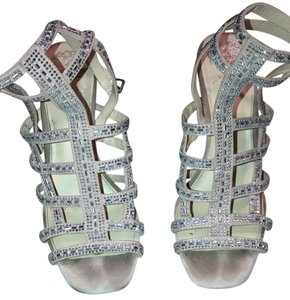 Vince Camuto Plush Pink, Sparkle Wedges