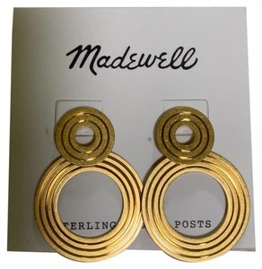 Madewell madewell Beautiful Double ring earring