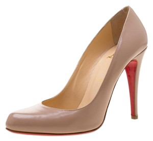 Christian Louboutin Leather Beige Pumps