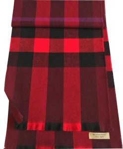 Burberry Burberry Lash Fringe Giant Check Scarf