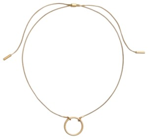 Madewell madewell adjustable ring choker necklace