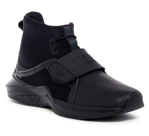 Black Hi Trainer Sneaker Boots/Booties