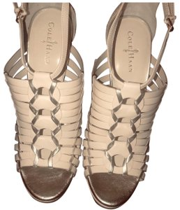 Cole Haan Cream Wedges