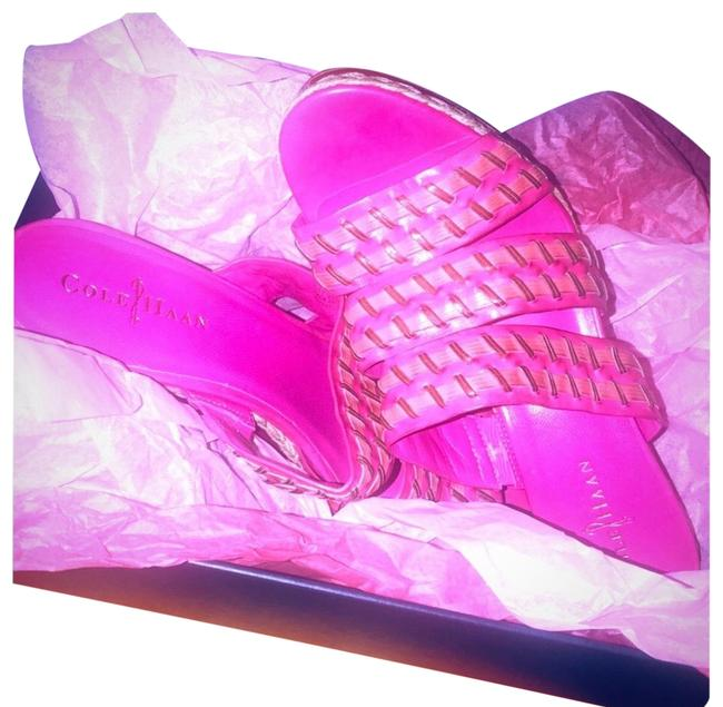 Item - Pink Vanessa Mules/Slides Size EU 40 (Approx. US 10) Regular (M, B)