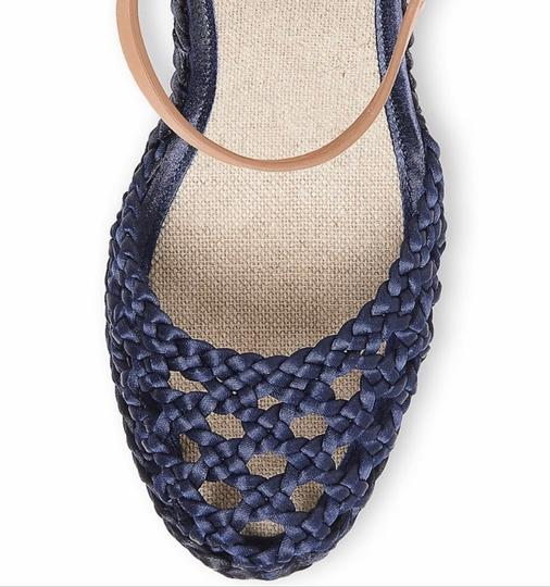 Tory Burch Blue Wedges Image 3