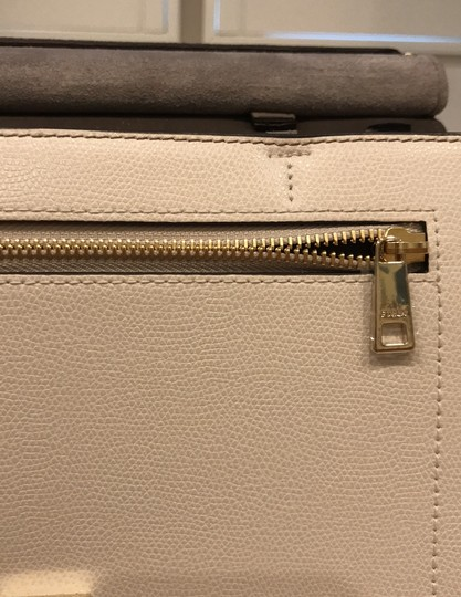 Furla off white, champagne and light gray Messenger Bag Image 10