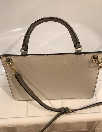 Furla off white, champagne and light gray Messenger Bag Image 3