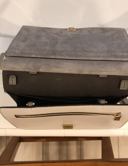 Furla off white, champagne and light gray Messenger Bag Image 4
