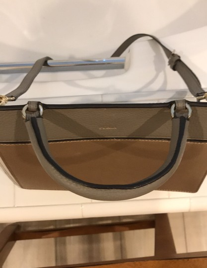Furla off white, champagne and light gray Messenger Bag Image 8