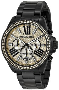 Michael Kors Wren Stainless Steel Pave Crystal Dial Chronograph MK5961