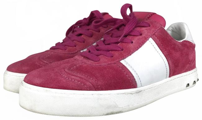 Item - Pink Suede Fly Crew Sneakers Size EU 36.5 (Approx. US 6.5) Regular (M, B)