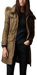 Burberry Quilted Parka Trench Coat