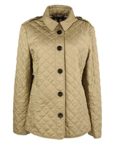 Burberry Quilted Ashurst Khaki canvas Jacket