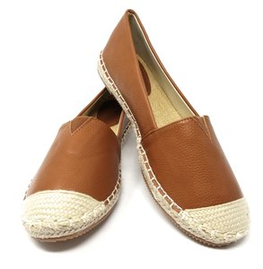 Forever Young Loafers Espadrille Slip On Driveable Camel Flats