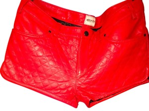 American Retro Mini/Short Shorts Red