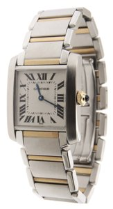 Cartier Mint Ladies Cartier Tank Francaise 2301 Midsize 18K YG/SS 26mm Watch