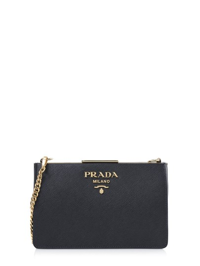 Preload https://img-static.tradesy.com/item/25965295/prada-58262-cerniera-black-leather-shoulder-bag-0-0-540-540.jpg