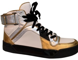 Gucci white- silver-gold Athletic