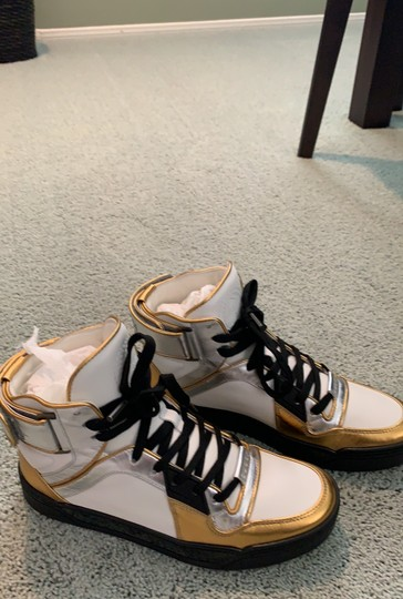 Gucci white- silver-gold Athletic Image 1
