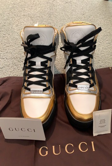 Gucci white- silver-gold Athletic Image 11