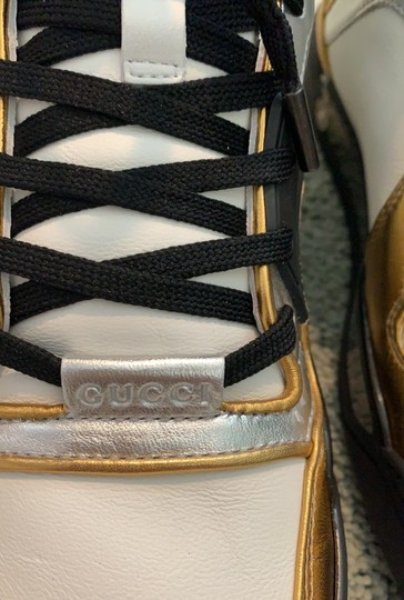 Gucci white- silver-gold Athletic Image 2