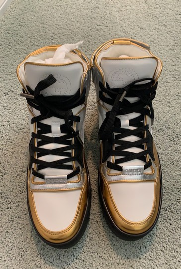 Gucci white- silver-gold Athletic Image 3