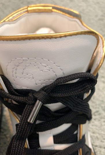 Gucci white- silver-gold Athletic Image 4