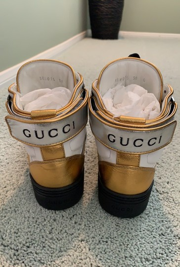 Gucci white- silver-gold Athletic Image 5