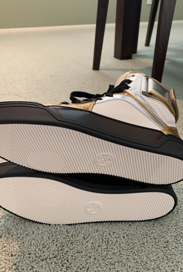 Gucci white- silver-gold Athletic Image 7