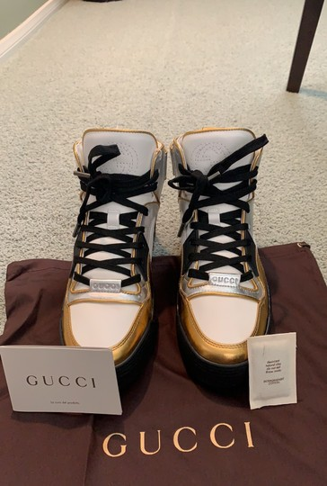 Gucci white- silver-gold Athletic Image 9