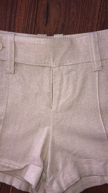 bebe Dress Shorts beige with streaks of gold Image 1