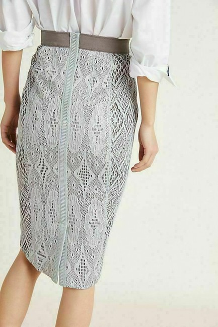 Byron Lars Beauty Mark Skirt Grey Image 1