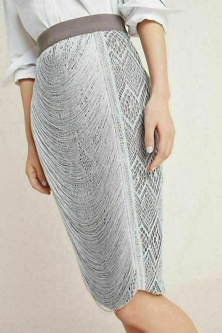 Byron Lars Beauty Mark Skirt Grey Image 3