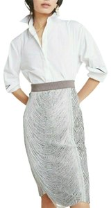 Byron Lars Beauty Mark Skirt Grey