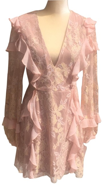 Preload https://img-static.tradesy.com/item/25965330/for-love-and-lemons-pale-rose-gold-bumble-short-casual-dress-size-8-m-0-8-650-650.jpg