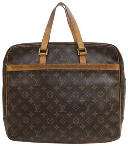 Louis Vuitton M53343 Porto Documentation Lv Business Bags Lv Monogram Satchel in Brown