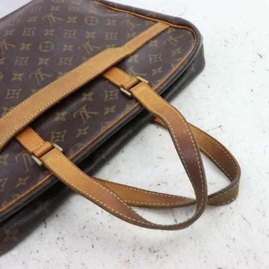 Louis Vuitton M53343 Porto Documentation Lv Business Bags Lv Monogram Satchel in Brown Image 3