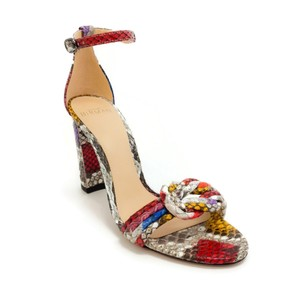 Alexandre Birman Rainbow Python Sandals