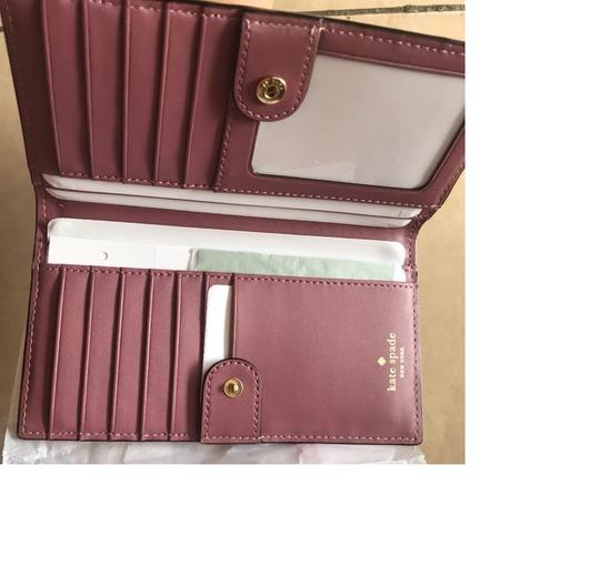 Kate Spade Kate Spade New York Bay St Stacy Wallet New Rum Raisin Image 3