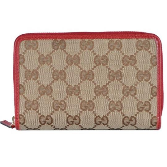 Preload https://img-static.tradesy.com/item/25965384/gucci-beige-womens-gg-calf-canvas-red-leather-trim-420113-wallet-0-0-540-540.jpg
