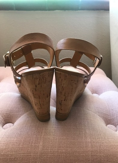 Franco Sarto Tan Wedges Image 2