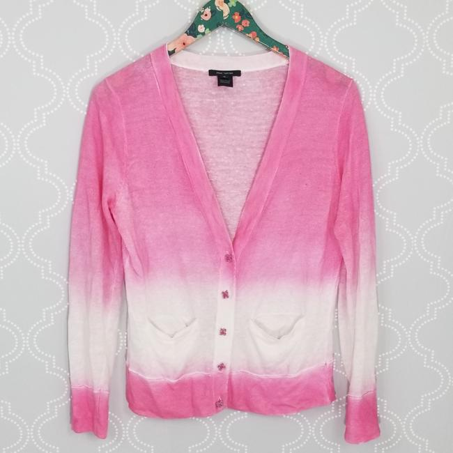 Preload https://item2.tradesy.com/images/pink-tartan-ombre-linen-cardigan-size-8-m-25965461-0-1.jpg?width=400&height=650