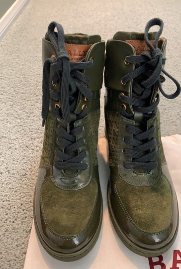 Bally green Boots Image 10
