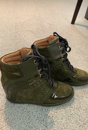 Bally green Boots Image 3
